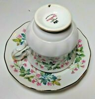 Queen Anne Fine Bone China Made in England Cup and Saucer