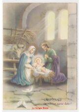 ZANDRINO cartolina vintage Vesel Bosic Buon Natale fg natività Sacra Famiglia