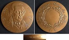 Médaille en bronze PORTALIS Notariat Notaire Monnaie de Paris  medal