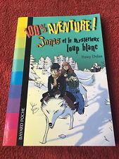 Jonas, Tome 3 : Jonas et le mystérieux loup blanc