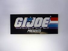 GI JOE PRESENTS CATALOG Vintage Brochure Booklet COMPLETE 1987