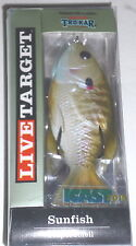 Live Target Sunfish Topwaters (Natural Olive Bluegill)
