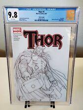 Thor #1 3rd Print Michael Turner Sketch Variant CGC 9.8 (2007)