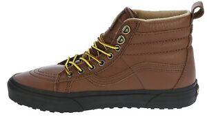 Vans Men SK8 Hi (MTE) Skate Shoes Cappuccino/Black