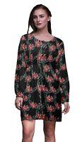 Bimba Robe tunique à manches longues et à manches longues pour femmes |FL-685A
