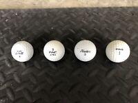 4 Ping Golf Balls! Two Tone, Ping Zing, Promo, Eye!