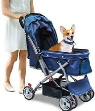 New ListingNoodoky Pet Stroller for Cats Dogs Rabbit with Reversible Handle, Dog Stroller f