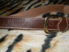 CINTURON MARCA EL CHARRO CINTURA CUERO VINTAGE COWBOY 80/32