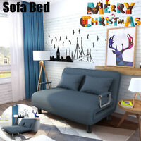 Convertible Sofa Bed Folding Arm Chair Sleeper Leisure Recliner Lounge Couch BU