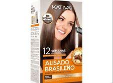 Kativa Brazilian Keratin Argan Oil Treatment Hair Straightening KIT BEST NEW BOX