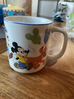 Vintage Mickey and Friends Coffee Cup Mug Disney Preowned Free Shipping