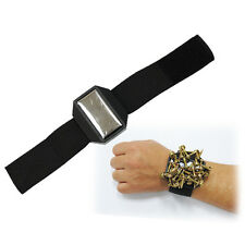 Magnetic Tool Cuff Wrist Band - Holds Nails, Bolts, Screws
