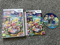 MARIO PARTY 9 NINTENDO WII WII U GAME WITH MANUAL OFFICIAL UK PAL VGC