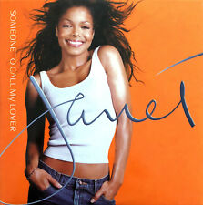 Janet CD Single Someone To Call My Lover - Promo - UK (EX+/M)