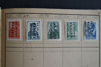 Stamps Nazi Germany WWII Hitler Era Invasion LITHUANIA Russia LIETUVA 1941-VI-23