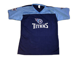 NWOT Tennessee Titans FRANKLIN FOOTBALL Mesh JERSEY NFL Kids Size YOUTH LARGE