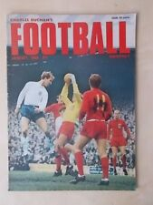 FOOTBALL MONTHLY MAGAZINE JANUARY 1968 - ENGLAND v WALES - SUNDERLAND