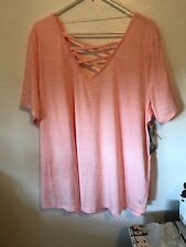 Bally Dry-Wik 3X Womans Shirt Nwt Apricot Blush