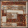 Seidentuch Groß Glanz Halstuch 130x130cm Seide Leopard Poncho Damenschal