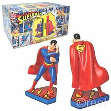 New Dc Comics Superman Bookends Figure Justice League Retro Official Licensed