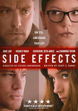 Side Effects (Blu-ray/DVD, 2013, 2-Disc Set, Digital Copy; UltraViolet) - NEW