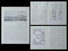 LA CONSTRUCTION MODERNE -n°29 -1920- CHAUMUZY, FERME, AUDOUARD