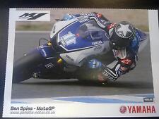 Yamaha MotoGP Team 2012 #11 Ben Spies (USA)