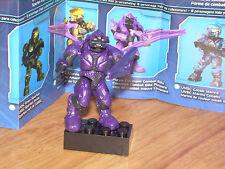 Mega Bloks 96978 HALO Series 5 PURPLE COVENANT COMBAT ELITE Micro Figure OOP
