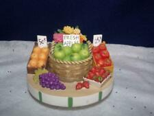 Yankee Candle Our America Candle Jar  Stay on Tops- MARKET-VEGGIES/FRUITS/FLOWER