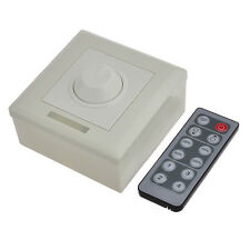 Wireless Remote Dimmer For LED Lighting 12-24 Volts DC 6 Amp 12 Button PWM Sale!