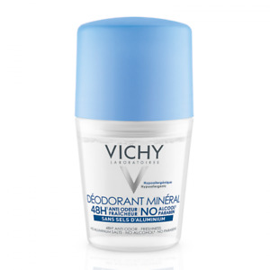 Vichy Deodorant Mineral 48h Without Aluminum Salts Roll-on 50ml