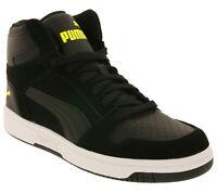 PUMA Schuhe angesagte Herren High Top Sneaker Rebound LayUp Turnschuhe Schwarz