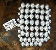 Lot of 60 EGG Fishing sinkers 12 of each 1, 2, 3, 4, 5 oz weights