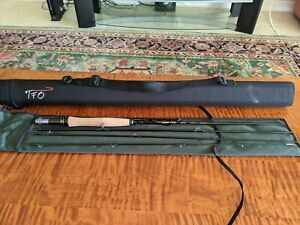 TFO BVK 8 ft 3 weight Fly Rod Excellent condition
