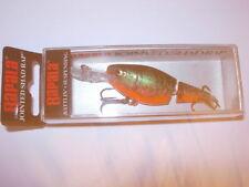 Appâts, leurres et mouches eaux douces rouge pour la pêche