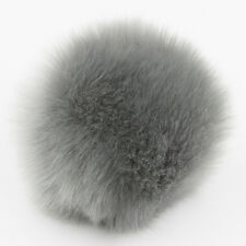 DIY 8CM Cute Faux Rabbit Fur Pom Pom Ball Pompoms Knitting Hat Accessories