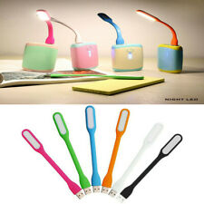 3 Pcs Usb Led Light Lamp Multi Purpose Blue,Green,Orange,Pink Random Color