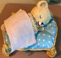 Hamilton Collection Sweet Dreams Snuggle Bear Figurine IN ORIGINAL PACKAGE 1998