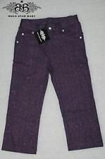 Rsb Rock Star Baby Beautiful Kids Pants Glitter Purple Size 2-4 Y New 08-47/B43