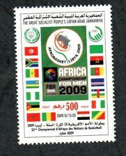 2009 - Libya – African Basketball Championship -Afrobasket 2009 - Flag- MNH**
