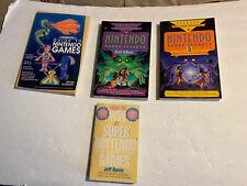 Nintendo Games Secrets & Strategy GuidE Book Lot