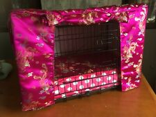 dog crate and cover set