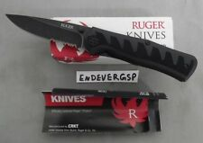 RUGER KNIFE BY CRKT R1202K STEIGERWALT COMPACT CRACK-SHOT SERRATED ASSISTED NEW!