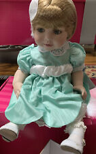 """Marie Osmond Doll ~ MOMMY'S GIRL ~  MINT in box - 13"""" Seated ~ only 500 made"""