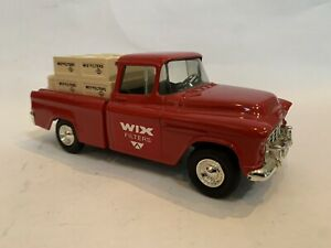 ERTL 1955 Chevrolet Cameo Pickup truck - WIX filters