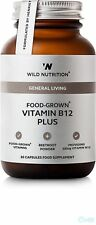 Wild Nutrition GENERALE vita food-grown Vitamina B12 Plus 30 capsule
