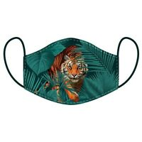 ADULT Face Mask Covering Mouth Protection Washable Reusable TIGER Design