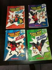 Kung Pow Chicken: series books 1-4.