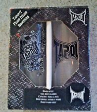 Set of 2 TAPOUT Fight Night Shooters Island Style Tall Shot Glasses. New in Box.