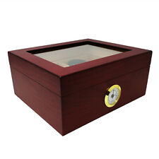 Prestige Import Group Chalet Glasstop Cherry Cigar Humidor